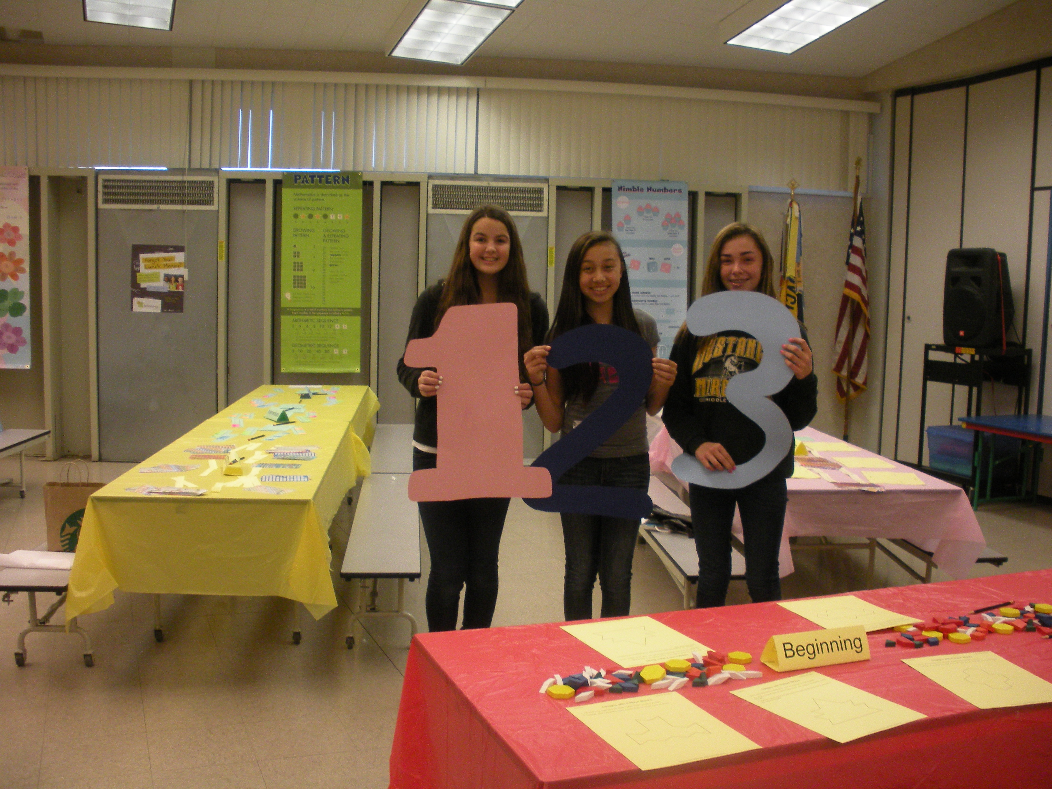 Nifty numbers family math night sign in sheet karyn 39 s blog for Nifty family