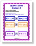 Equation Cards 3-5 image